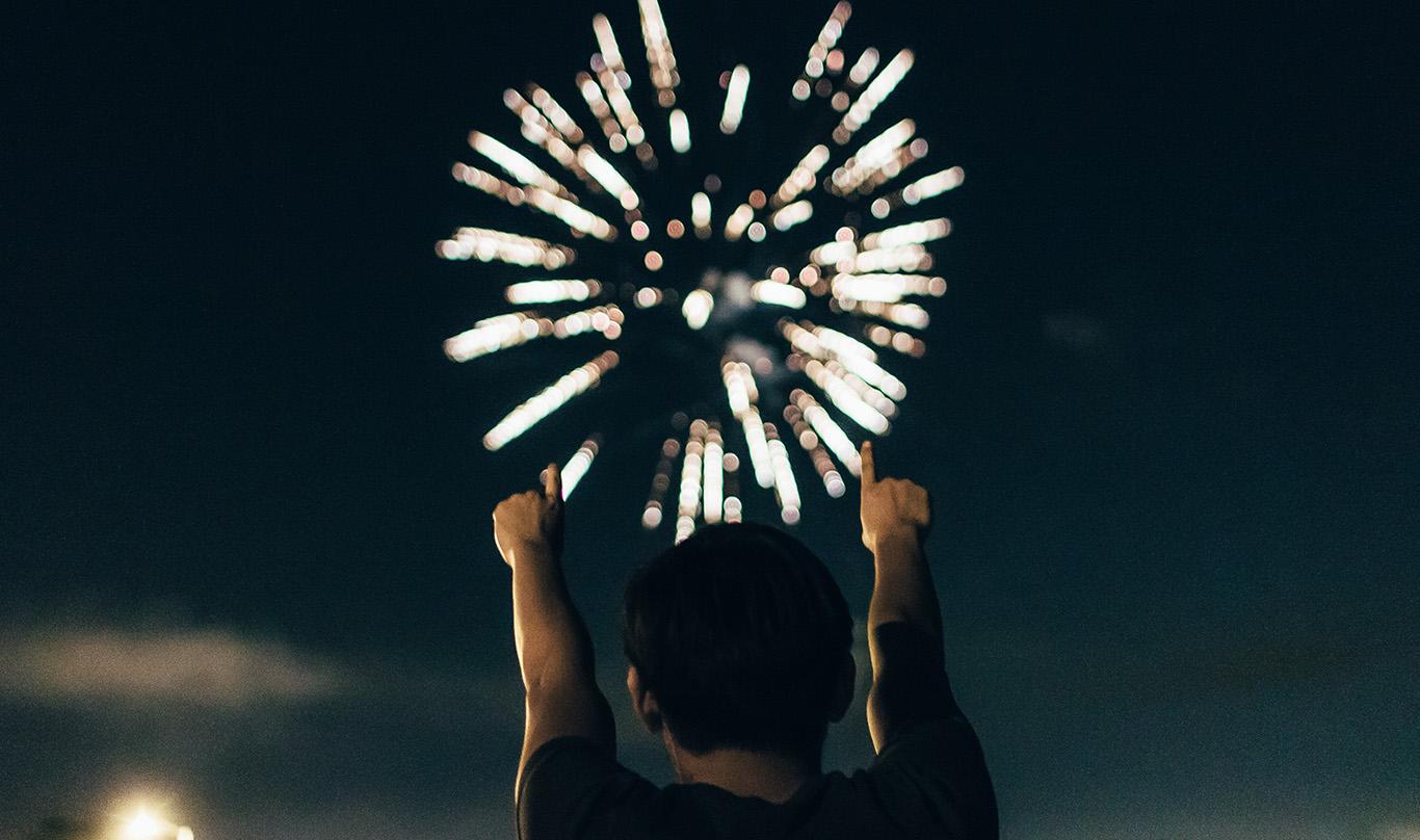 Boom Create celebration